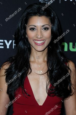 """Reshma Shetty attends the """"Pure Genius"""" screening and panel discussion at the 2016 PaleyFest Fall TV Previews, in Beverly Hills, Calif"""