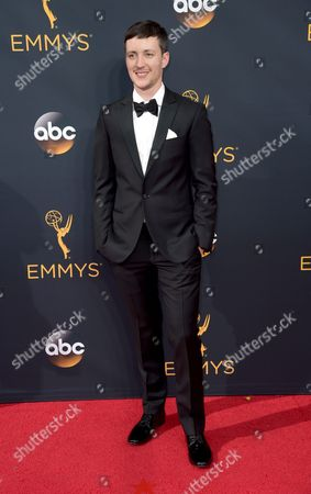 Stock Photo of Rhys Ernst arrives at the 68th Primetime Emmy Awards, at the Microsoft Theater in Los Angeles