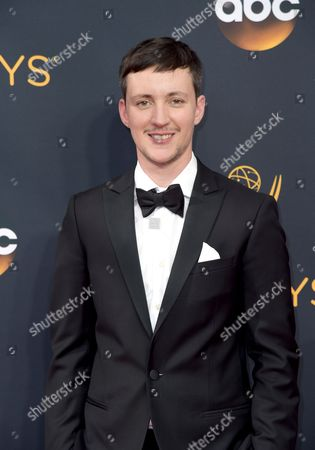 Stock Picture of Rhys Ernst arrives at the 68th Primetime Emmy Awards, at the Microsoft Theater in Los Angeles
