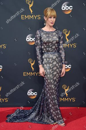 Zackary Drucker arrives at the 68th Primetime Emmy Awards, at the Microsoft Theater in Los Angeles