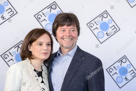 Julie Burns and Ken Burns attend the 2016 Room To Grow Benefit, to support babies born into poverty, at Tribeca Three Sixty, in New York
