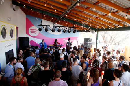 Editorial image of 2016 SXSW - Spotify House day 1, Austin