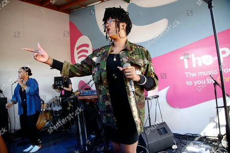 Editorial picture of 2016 SXSW - Spotify House day 1, Austin