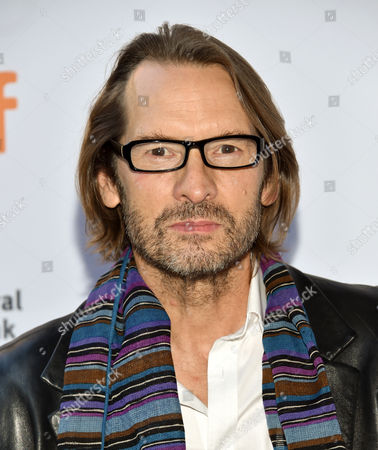 """Stock Image of Actor Adrian Hough attends the """"(re)Assignment"""" premiere on day 7 of the Toronto International Film Festival at the Ryerson Theatre, in Toronto"""