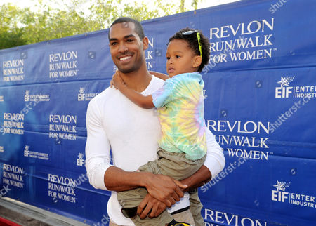 Lamon Archey arrives at the 20th Annual EIF Revlon Run/Walk For Women held at Los Angeles Memorial Coliseum at Exposition Park on in Los Angeles, California