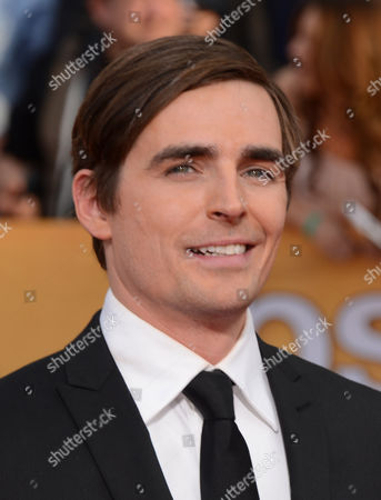 Jacob A. Ware arrives at the 20th annual Screen Actors Guild Awards at the Shrine Auditorium, in Los Angeles