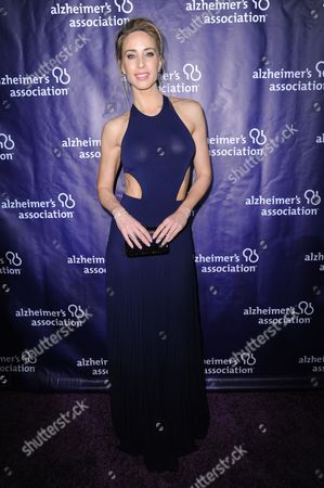 "Astrid Swan attends the 24th Annual ""A Night at Sardi's"" held at the Beverly Hilton Hotel, in Beverly Hills, Calif"
