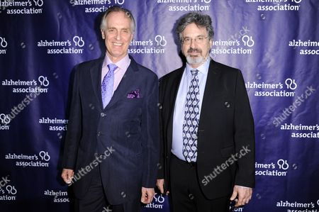 "Keith Carradine, left, and Robert Carradine attend the 24th Annual ""A Night at Sardi's"" held at the Beverly Hilton Hotel, in Beverly Hills, Calif"