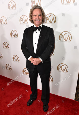 Doug Mitchell arrives at the 27th annual Producers Guild Awards at the Hyatt Regency Century Plaza, in Los Angeles