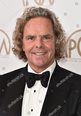 Stock Photo of Doug Mitchell arrives at the 27th annual Producers Guild Awards at the Hyatt Regency Century Plaza, in Los Angeles