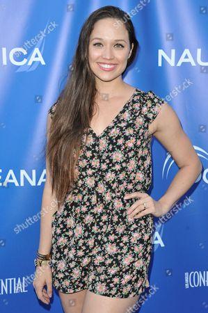 Jaclyn Betham arrives at the 2nd Annual Nautica Oceana Beach House Party, in Santa Monica, Calif