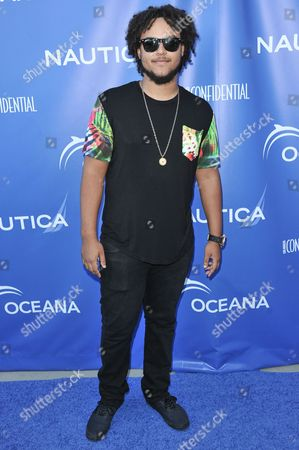 Connor Cruise arrives at the 2nd Annual Nautica Oceana Beach House Party, in Santa Monica, Calif