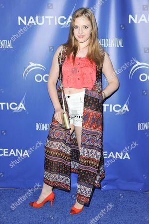 Kaitlyn Jenkins arrives at the 2nd Annual Nautica Oceana Beach House Party, in Santa Monica, Calif