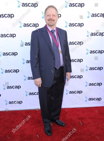 Jerry Goldstein, award winner for GDFR by Flo Rida ft. Sage the Gemini, arrives at the 33rd annual ASCAP Pop Music Awards at the Dolby Ballroom, in Los Angeles