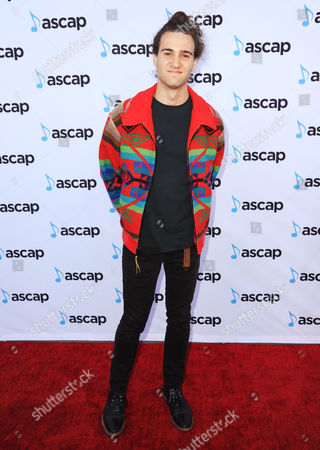 Stock Picture of James The Human arrives at the 33rd annual ASCAP Pop Music Awards at the Dolby Ballroom, in Los Angeles