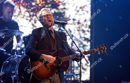 Steven Curtis Chapman performs at the 47th Annual GMA Dove Awards at Lipscomb University, in Nashville, Tenn
