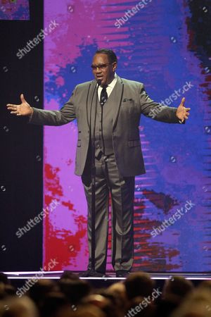Dr. Bobby Jones is seen at the 47th Annual GMA Dove Awards at Lipscomb University, in Nashville, Tenn