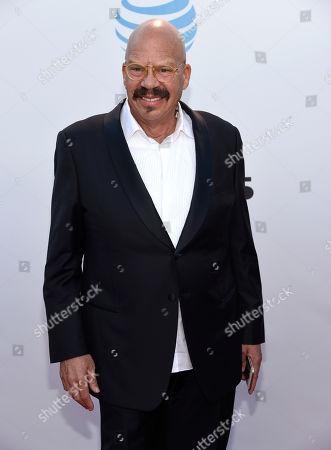 Tom Joyner arrives at the 47th NAACP Image Awards at the Pasadena Civic Auditorium, in Pasadena, Calif