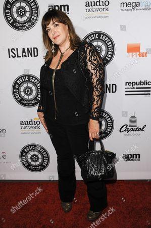 Danielle Brisebois arrives at the 5th Annual Guild Of Music Supervisors Awards held at Mack Sennett Studios, in Los Angeles