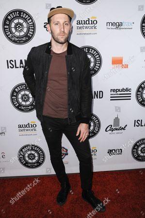 Mat Kearney arrives at the 5th Annual Guild Of Music Supervisors Awards held at Mack Sennett Studios, in Los Angeles