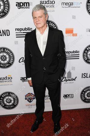 Gustavo Santaolalla arrives at the 5th Annual Guild Of Music Supervisors Awards held at Mack Sennett Studios, in Los Angeles