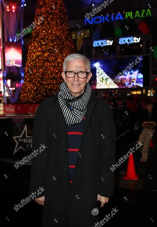 Fritz Coleman attends the 5th annual Holiday Tree Lighting at L.A. Live and opening of LA Kings Holiday Ice, in Los Angeles