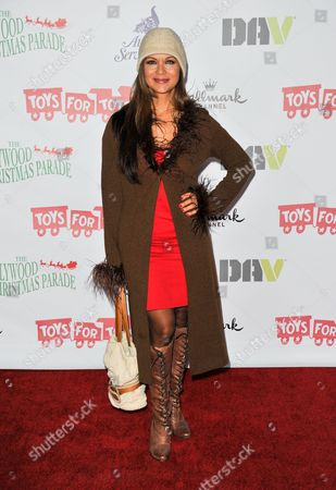 Nia Peeples arrives at the 82nd Annual Hollywood Christmas Parade, on Sunday, December, 1, 2013 in Los Angeles