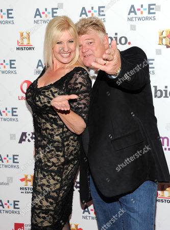 "Storage Wars"" cast members Laura Dotson and Dan Dotson attend the A+E Networks 2013 Upfront on in New York"