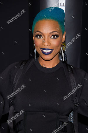 Sharaya J attends the Alexander Wang x H&M collection launch event on in New York