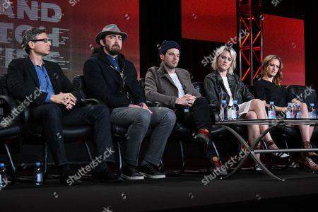 Editorial picture of AMC 2015 Winter TCA, Pasadena, USA
