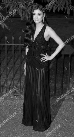 Rebecca Wang arrives for the Serpentine Gallery Summer Party at Hyde Park in central London
