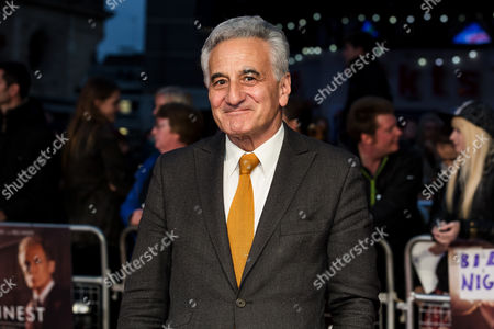 Actor Henry Goodman poses for photographers on arrival at the premiere of the film 'Their Finest', showing as part of the London Film Festival in London