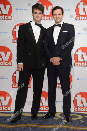 Tony Gardner poses for photographers at the TV Choice Awards 2015 at a central London venue, London