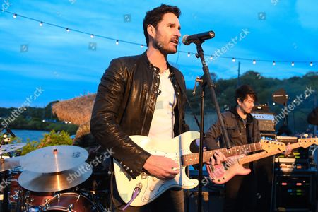 Ryan Merchant of Capital Cities performs at The Surf Lodge, in Montauk