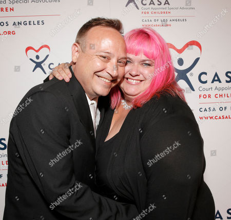 Keith Coogan and Pinky attend the CASA/LA Evening to Foster Dreams Gala at the Beverly Hilton on in Beverly Hills, Calif