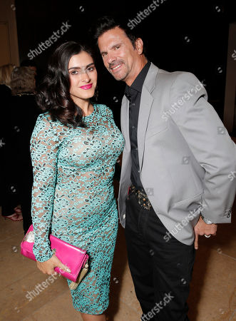Shawna Craig and Lorenzo Lamas attend the CASA/LA Evening to Foster Dreams Gala at the Beverly Hilton on in Beverly Hills, Calif