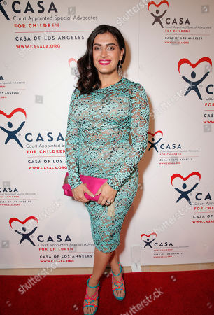 Shawna Craig attends the CASA/LA Evening to Foster Dreams Gala at the Beverly Hilton on in Beverly Hills, Calif