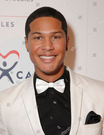 Najee De-Tiege attends the CASA/LA Evening to Foster Dreams Gala at the Beverly Hilton on in Beverly Hills, Calif
