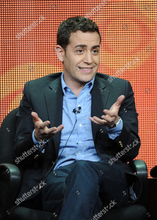 """Executive producer/director Jason Winer participates in the """"The Crazy Ones"""" panel at the 2013 CBS Summer TCA Press Tour at the Beverly Hilton Hotel on in Beverly Hills, Calif"""
