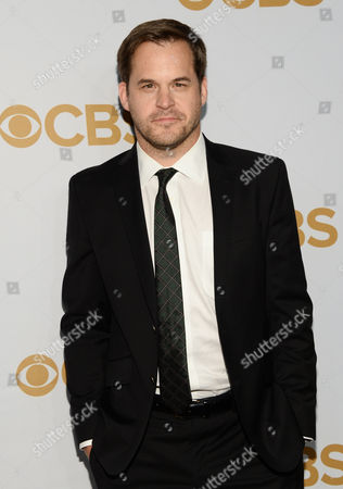 Kyle Bornheimer attends the CBS Network 2015 Programming Upfront at The Tent at Lincoln Center, in New York