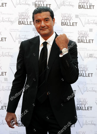 Jewler Jacob Arabo arrives at the New York City Ballet Fall Gala honoring fashion designer Valentino Garavani at Lincoln Center on in New York. For this one night only Valentino will create costumes for three ballets