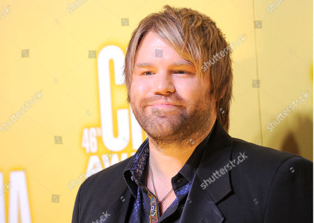 Stock Photo of James Otto arrives at the 46th Annual Country Music Awards at the Bridgestone Arena, in Nashville, Tenn