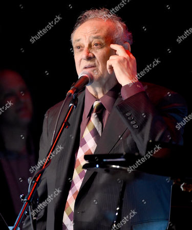 Stock Picture of Angelo Badalamenti performs at the David Lynch Foundation Music Celebration at the Theatre at Ace Hotel, in Los Angeles
