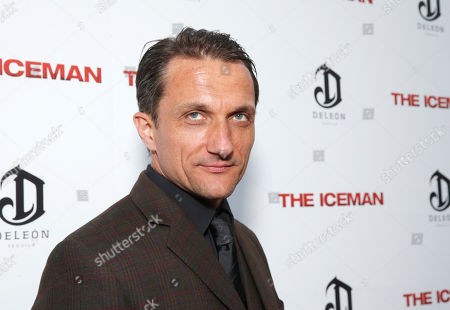 Stock Image of Zoran Radanovich attends the DeLeon Tequila special screening of The Iceman at the Arclight on in Los Angeles