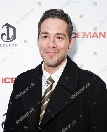 Hector Hank attends the DeLeon Tequila special screening of The Iceman at the Arclight on in Los Angeles