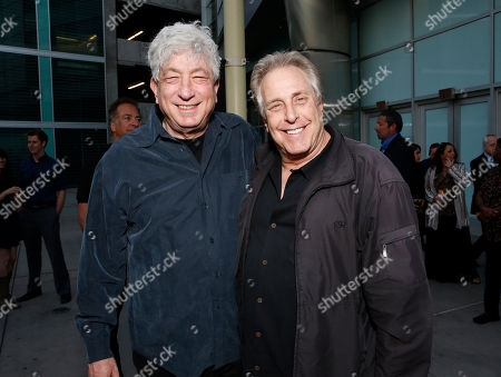 Avi Lerner and Chuck Roven attend the DeLeon Tequila special screening of The Iceman at the Arclight on in Los Angeles