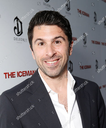 Stock Image of Todd Gallagher attends the DeLeon Tequila special screening of The Iceman at the Arclight on in Los Angeles