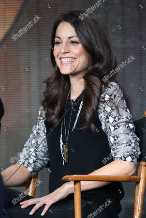 """Kate Simses participates in the """"Mixology"""" panel discussion at the Disney/ABC Winter 2014 TCA Press Tour on in Pasadena, Calif"""