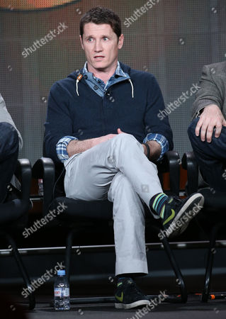 "Executive producer Kyle Killen participates in the ""Mind Games"" panel discussion at the Disney/ABC Winter 2014 TCA Press Tour on in Pasadena, Calif"