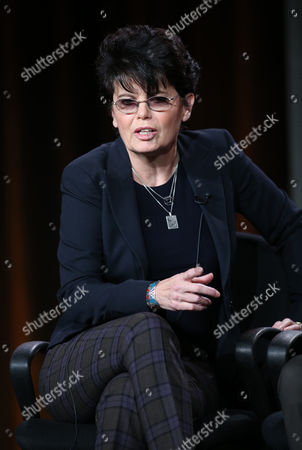 "Executive producer Amy Holden Jones participates in ""The Black Box"" panel discussion at the Disney/ABC Winter 2014 TCA Press Tour on in Pasadena, Calif"